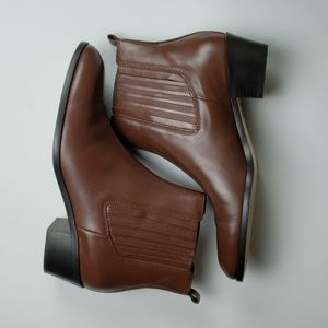 J.Crew Chelsea leather ankle boots